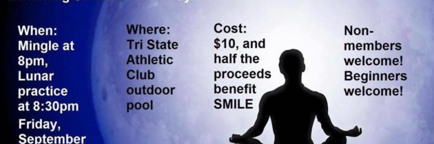 You're invited to Lunar Yoga to benefit SMILE on Down Syndrome
